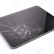 Como mexer no tablet com a tela rachada