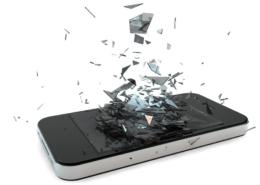tela quebrada - iphone